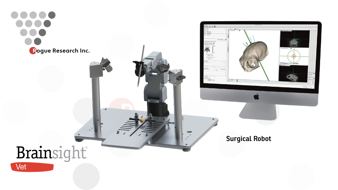 Brainsight Vet Surgical Robot
